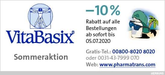 Sommeraktion: –10% Rabatt auf alle Bestellungen