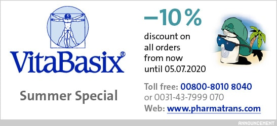 Summer Special: –10% dicount on all orders