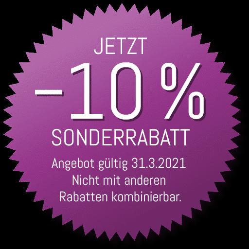 Immunsystem Aktion: –10% Sonderrabatt