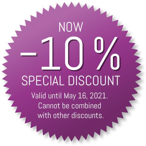 Immune system special: –10% special discount
